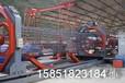 南京铁工机械有限公司,金陵铁工TGC2000-12数控钢筋笼滚焊机,高速公路和高铁项目钢筋加工的必备