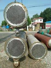 二手化工设备二手冷凝器不锈钢列管冷凝器图片