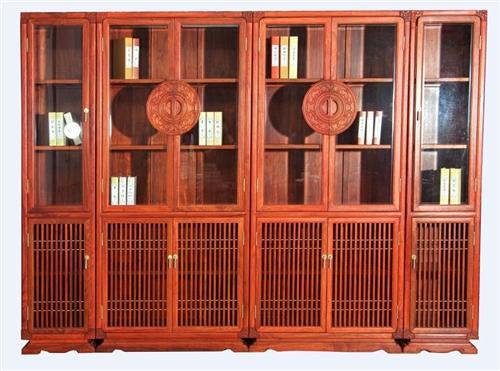 新中式红木办公家具图片新中式红木办公家具设计美观