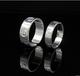 纯银批发990纯银戒指韩版明星同款情侣戒指男女亚卡地银戒指