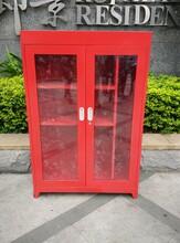 重庆消防器材柜消防展示柜消防装备柜可定制厂家包税运