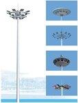 扬州弘旭专业生产高杆灯升降式码头高杆灯