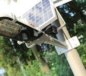 扬州弘旭销售超亮户外太阳能一体灯化挑臂led路灯