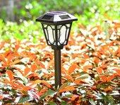 扬州弘旭供应欧式花园装饰太阳能地插灯别墅家用超亮LED草坪灯