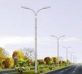 扬州弘旭生产定制12米双臂道路灯道路金属高杆路灯