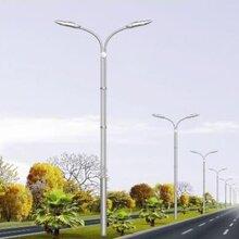 扬州弘旭生产定制12米双臂道路灯道路金属高杆路灯图片