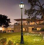 扬州弘旭生产美式庭院灯防水单头路灯高杆别墅景观灯