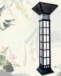 扬州弘旭销售3米室外园林景观灯柱方灯户外欧式别墅防水庭院灯