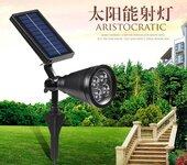扬州弘旭生产太阳能射灯地插灯庭院灯户外灯