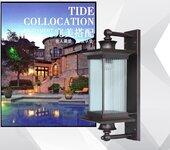 扬州弘旭销售户外欧式花园防水壁灯庭院灯别墅中式复古壁灯