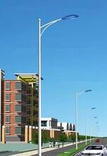 扬州弘旭生产6米LED路灯单臂道路灯庭院灯图片