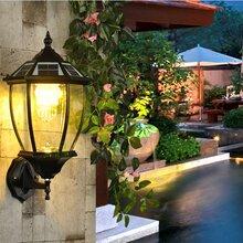 扬州弘旭销售太阳能壁灯户外防水灯室外欧式庭院灯图片