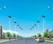 扬州弘旭照明生产太阳能路灯销售6米太阳能路灯节能环保灯图片