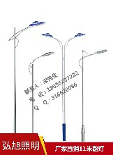 扬州弘旭生产路灯销售11米单臂路灯道路照明专用灯