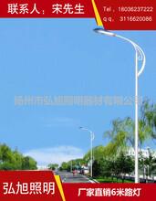 扬州弘旭照明专业生产6米道路灯户外路灯