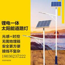 扬州弘旭照明公司生产LED小金豆锂电池太阳能路灯户外定制图片