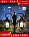 扬州弘旭照明生产户外2米庭院灯led高杆花园灯