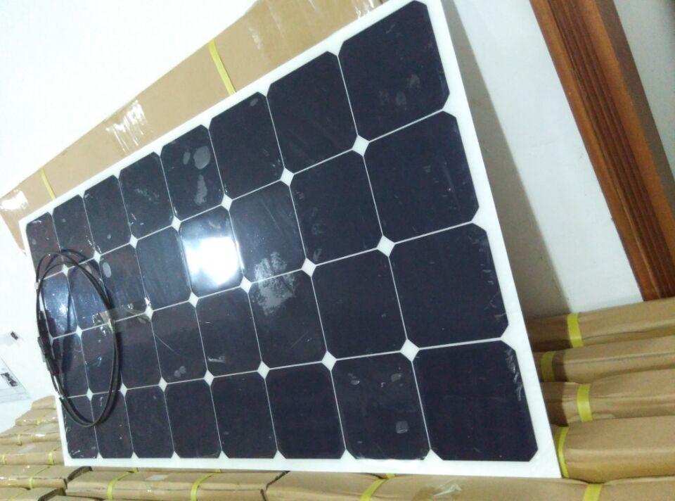 高效太阳能发电板,柔性太阳能发电板,sunpower太阳能发电板,100W太阳能板