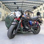小飞鹰边改装三轮复古式边三轮燃油摩托车150-250单缸图片