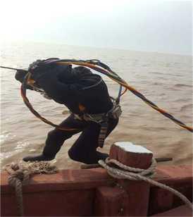 北海潜水打捞案例