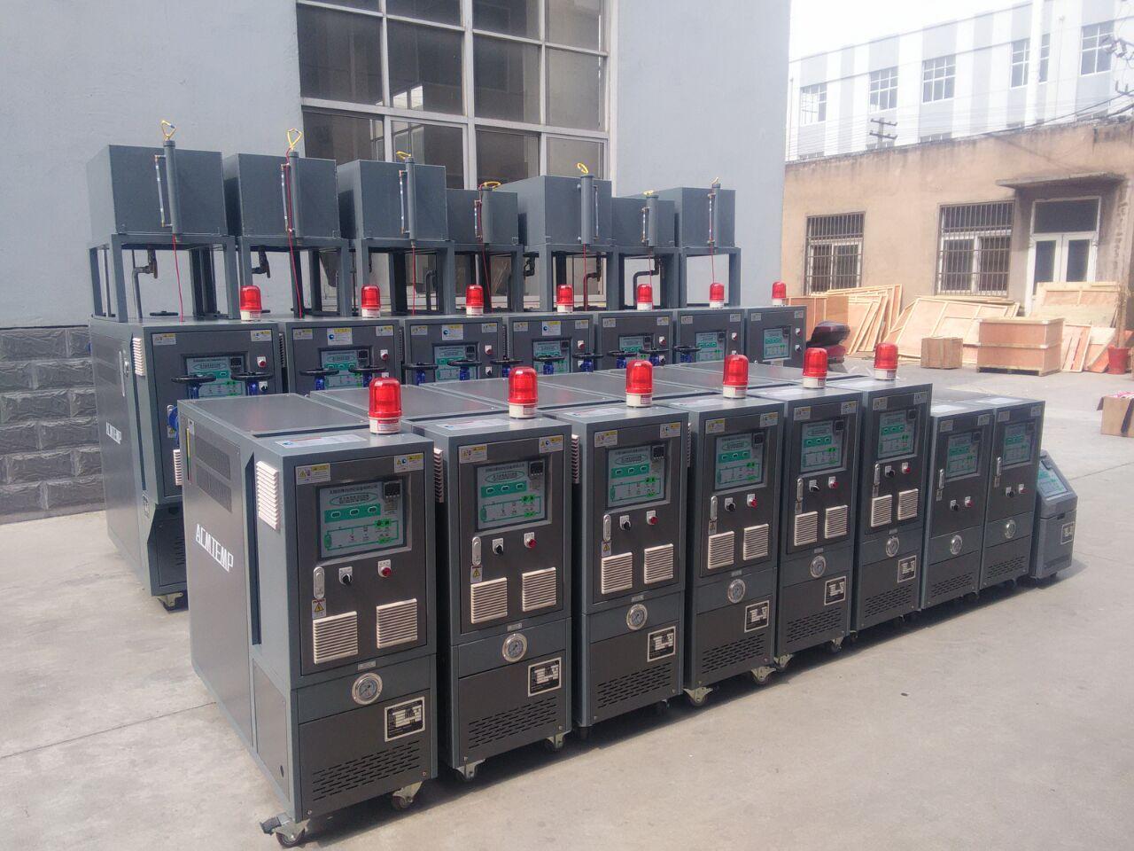 烟台橡胶挤出专业模温机,油加热器,电加热油炉找阿科牧机械