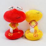 仿真毛绒玩具蛇公仔娃娃定制广州毛绒玩具生产生肖吉祥物加工