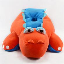 毛绒玩具厂家批发创意毛绒玩具恐龙公仔可定制企业吉祥物
