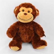 来图来样专业定制毛绒玩具毛绒玩具猴子长臂猴猴公仔吉祥物制作