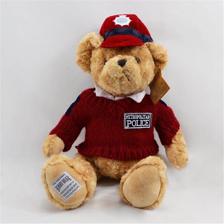 毛绒玩具熊定做厂家批发婚庆布娃娃毛衣泰迪熊轻松熊