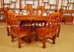 中式象头茶桌餐桌两用