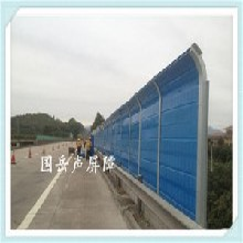 道路声屏障的制作工艺铝板隔音墙江西高架桥声屏障