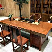 非洲黑檀木家具会议桌茶桌办公桌现货工厂直销