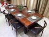 黑檀木大班台原木整板高档家具会议桌茶桌办公桌现货
