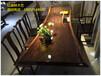 实木大板巴花大板桌奥坎黄花梨餐桌红木茶桌原木办公桌老板桌现货