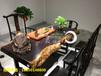 非洲黑檀实木大板红木家具老板办公桌办公家具大板桌餐桌茶桌会议