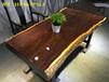 上饶哪里有实木大板桌黑檀办公桌会议桌现货