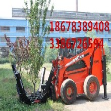 三瓣式移树机价格中首重工装载机移树机厂家wl玲