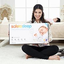 安宝睡safetosleep智能婴儿床垫图片
