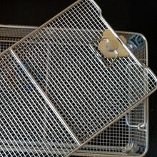 医用消毒筐,零件清洗筐,超声波清洗筐厂家定做直销图片