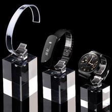福州亚克力制品厂家劳力士手表展示道具有机玻璃制品展示架高档透明定制