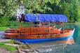 江苏云峰热销欧式帆船乌篷船旅游木船景点手划木船出售定制