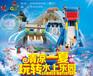 广州小区超市广场大型儿童游乐设备充气城堡充气滑梯新款上市