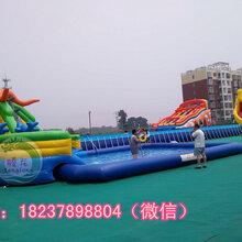 邯郸儿童充气水池支架水池大型移动水上乐园上门安装前景一片光明