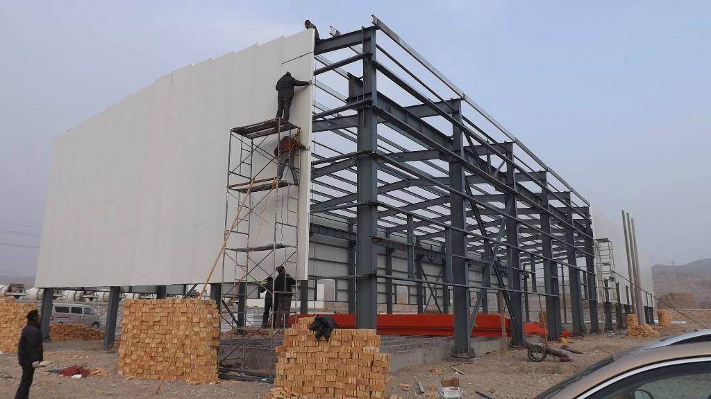 麻涌钢结构厂房装修,设备基础施工方案