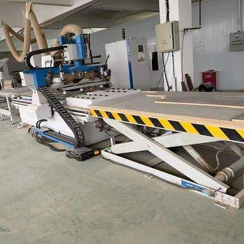 現場處理一批板式家具生產線設備封邊機電子鋸加工中心