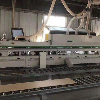 森冰轉讓二手木工機械南興NB6J帶預銑全自動封邊機