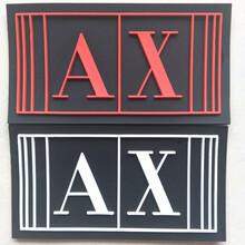 厂家定做服装PVC胶章商标橡胶标牌订制皮标皮牌标签图片