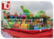 焦作儿童玩具充气蹦蹦床-室内充气城堡