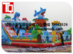 焦作小孩子玩的充气蹦蹦床-大型充气城堡蹦蹦床