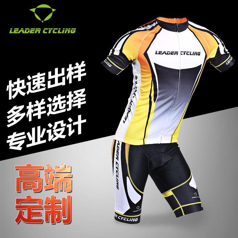 厂家定做2016自行车骑行服夏季户外铁三项服骑行套装骑行短裤定制